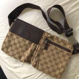 Gucci Monogram Waist Bag